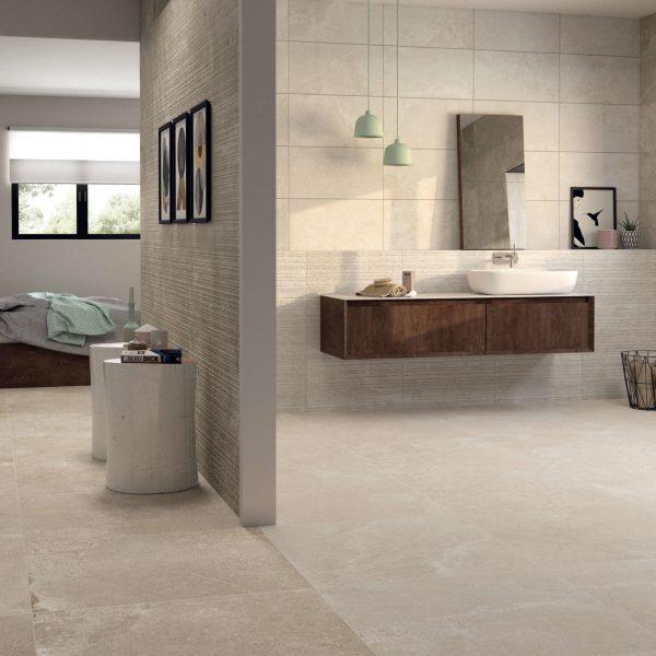 Bathrooms AMBIENTE_NOTHEBAY BONE 75X75